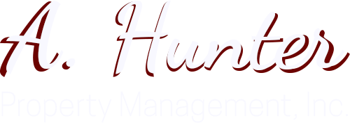 A Hunter Property Management Logo